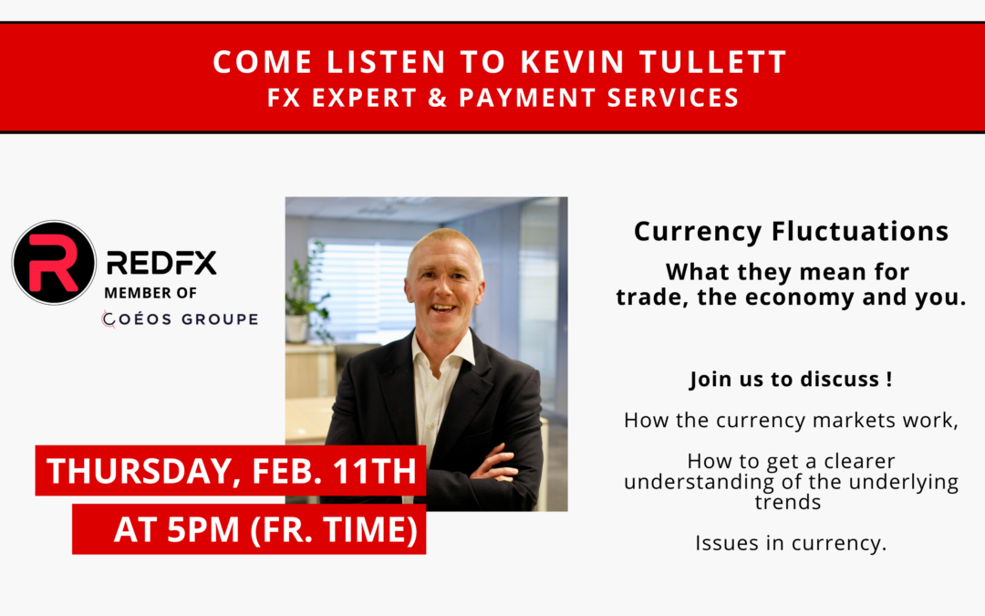 Kevin Tullett, conférencier pour Future Of Money